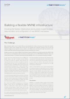 Cover of Building a flexible MVNE infrastructure