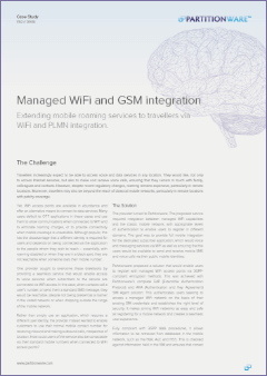Cover of Managed Wi-Fi and GSM integration