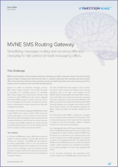 Cover of MVNE SMS Routing Gateway