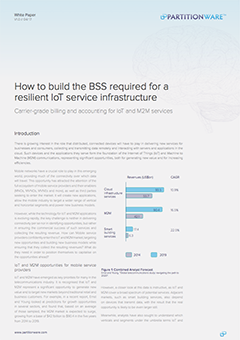 How to build the BSS required for a resilient IoT service infrastructure